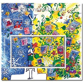 n° 8 -  Timbre France Bloc Yvert et Tellier (DUBREUIL)