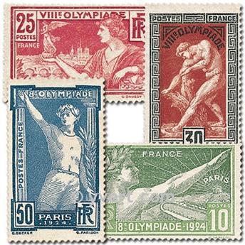 n° 183/186 -  Selo França Correios
