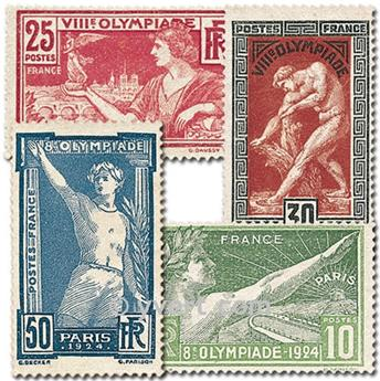 n° 183/186 -  Timbre France Poste