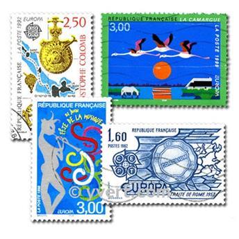 EUROPA CEPT : pochette de 50 timbres