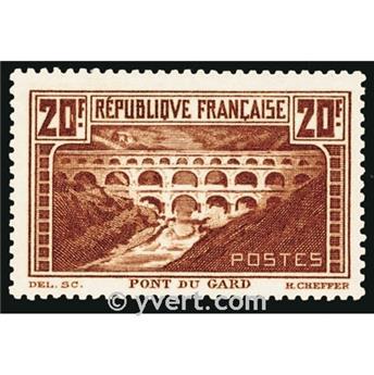 n.o 262A -  Sello Francia Correos