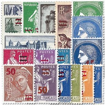 n.o 476 / 493 -  Sello Francia Correos