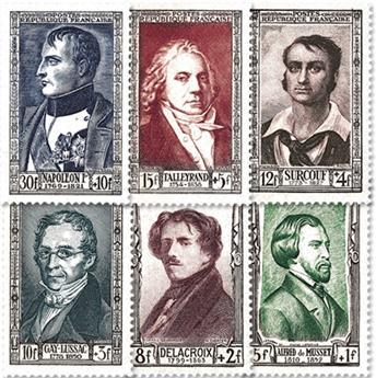 nr. 891/896 -  Stamp France Mail
