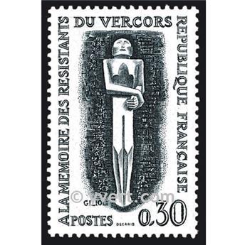 n° 1336 -  Selo França Correios
