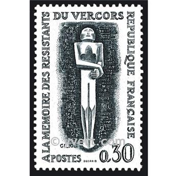 n° 1336 -  Timbre France Poste