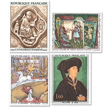 n.o 1586 / 1588A -  Sello Francia Correos