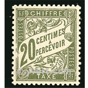 n° 31 -  Selo França Taxa