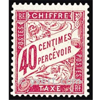 n° 35 -  Timbre France Taxe