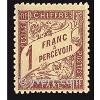 n° 40 -  Selo França Taxa