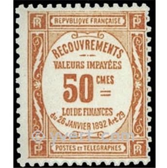 n° 47 -  Selo França Taxa
