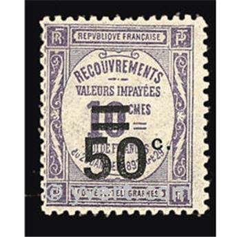 n° 51 -  Selo França Taxa