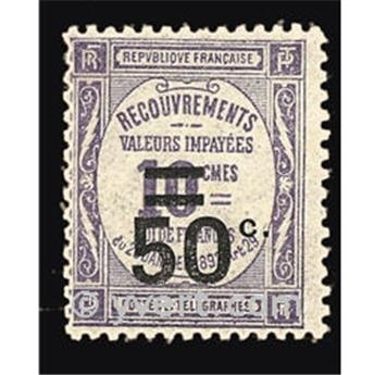 n° 51 -  Timbre France Taxe