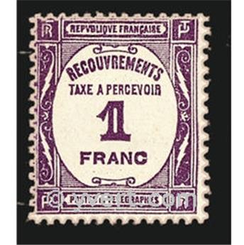 n.o 59 -  Sello Francia Tasa