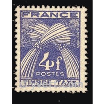 n.o 84 -  Sello Francia Tasa