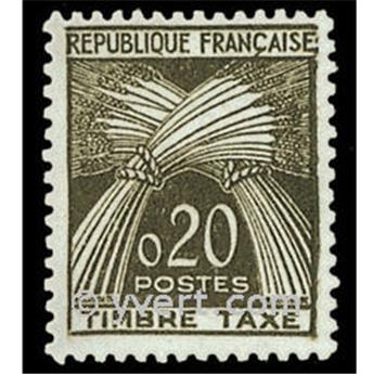 n.o 92 -  Sello Francia Tasa
