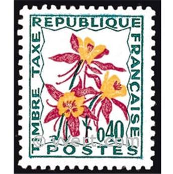 n.o 100 -  Sello Francia Tasa