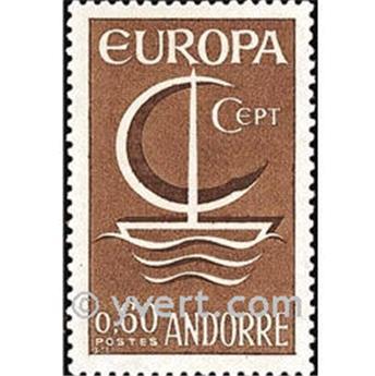 n° 178 -  Selo Andorra Correios