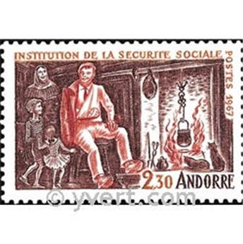 n° 183 -  Timbre Andorre Poste