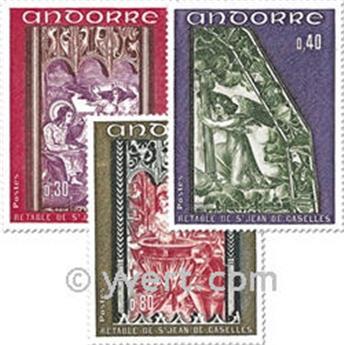 nr. 206/208 -  Stamp Andorra Mail