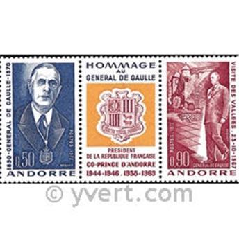 n° 225A -  Selo Andorra Correios