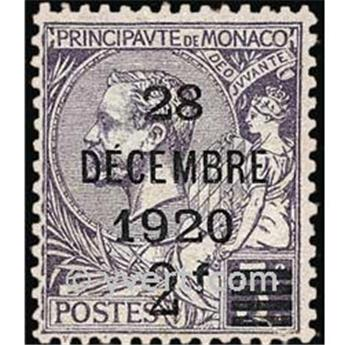 n° 50 -  Selo Mónaco Correios