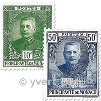 nr. 65/69 -  Stamp Monaco Mail