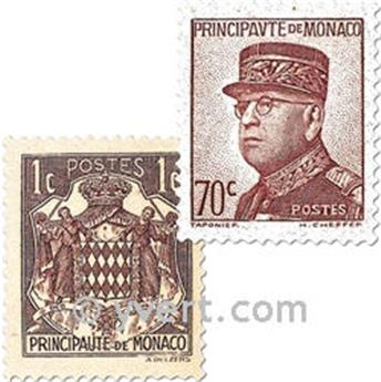 n° 154/166 -  Selo Mónaco Correios
