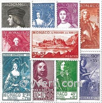 n° 185/194 -  Selo Mónaco Correios