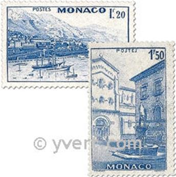 n° 275/280 -  Timbre Monaco Poste