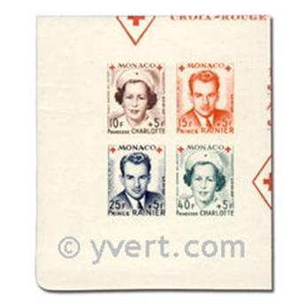 n° 334B/337B -  Timbre Monaco Poste