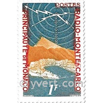 n° 376/378 -  Timbre Monaco Poste