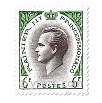 n° 421/426A -  Timbre Monaco Poste