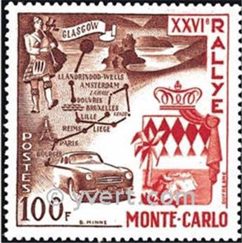 n° 441 -  Selo Mónaco Correios