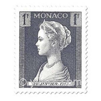 n° 478/486 -  Selo Mónaco Correios