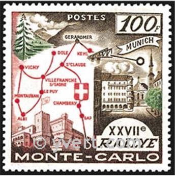 n° 491 -  Selo Mónaco Correios