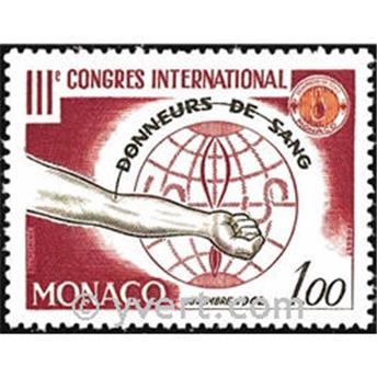 n° 598 -  Timbre Monaco Poste