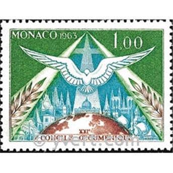 n.o 610 -  Sello Mónaco Correos