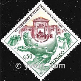 n.o 615 -  Sello Mónaco Correos