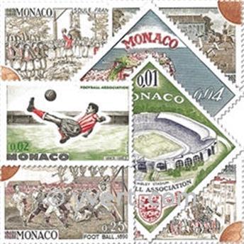 n° 620/631 -  Selo Mónaco Correios
