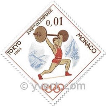 nr. 654/657 -  Stamp Monaco Mail