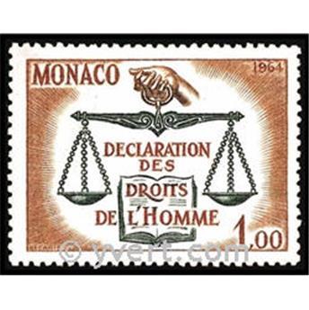 nr. 661 -  Stamp Monaco Mail