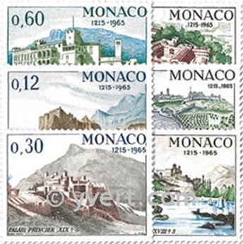 nr. 677/682 -  Stamp Monaco Mail