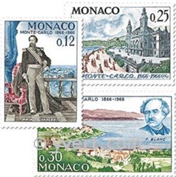 nr. 690/697 -  Stamp Monaco Mail