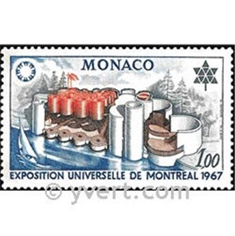 nr. 727 -  Stamp Monaco Mail