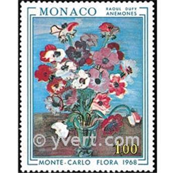n° 743 -  Timbre Monaco Poste