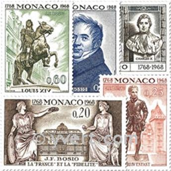 n° 764/768 -  Timbre Monaco Poste