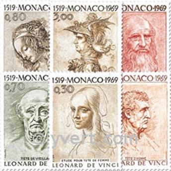 n° 799/804 -  Timbre Monaco Poste