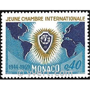 n° 808 -  Timbre Monaco Poste