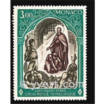 n° 866 -  Selo Mónaco Correios