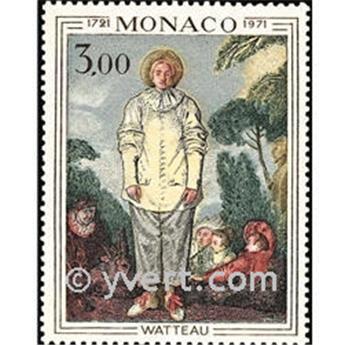 n° 878 -  Selo Mónaco Correios